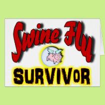 Swine Flu Survivor Card
