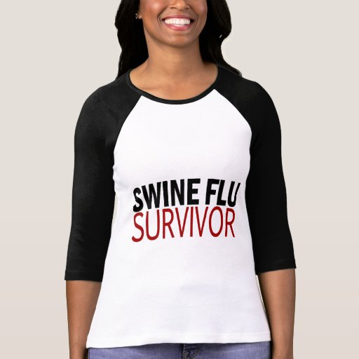 Swine Flu Survivor T-shirts