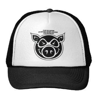 Swine Flu Trucker Hat