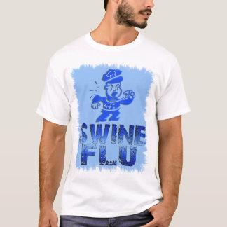 Swine Flu White T-Shirt