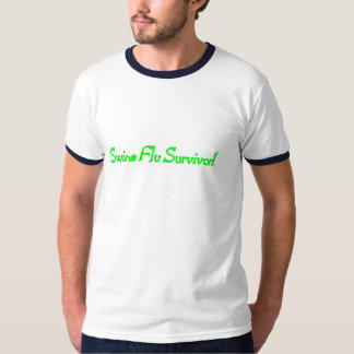 Swine Flue Survivor T Shirts