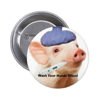 Swine H1N1 Buttons