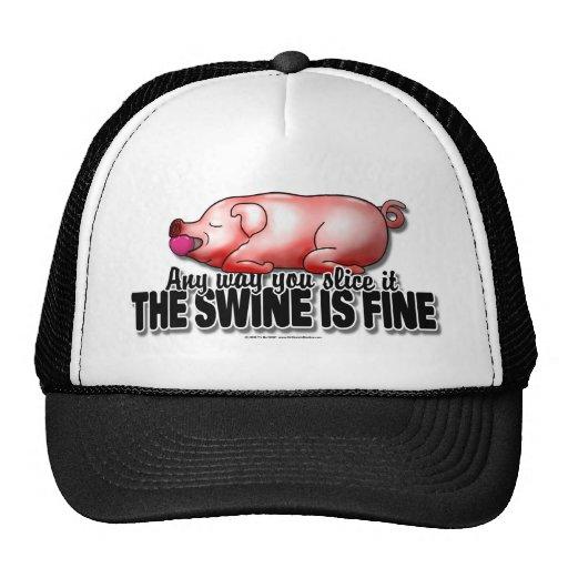 Swine Is Fine Trucker Hat