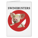 Swinebusters! Cards