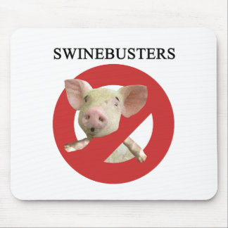 Swinebusters! Mouse Pad