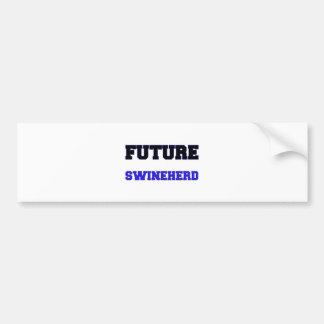 Swineherd futuro pegatina para auto