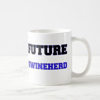 Swineherd futuro taza básica blanca