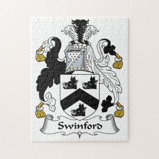 Swinford Family Crest Jigsaw Puzzle