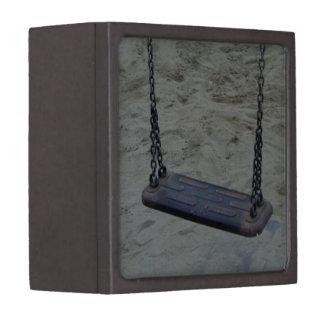 Swing at Playground, Summer Sand Beach Kids Play Premium Gift Box