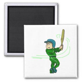 Swing batter magnet