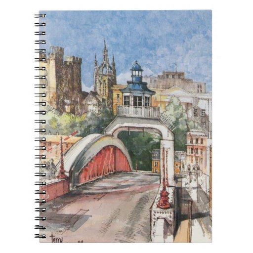 Swing Bridge Notebook