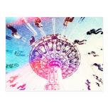 Swing Carousel Postcard