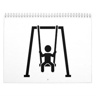 Swing child calendar