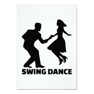 Swing dance card