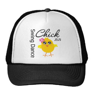 Swing Dance Chick Mesh Hats