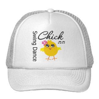 Swing Dance Chick Trucker Hat
