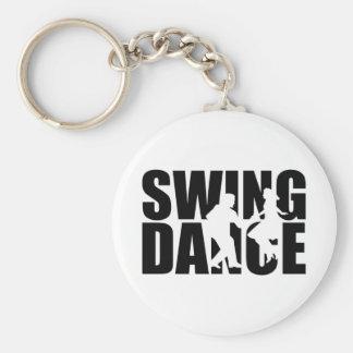 Swing dance keychain