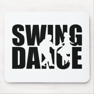 Swing dance mouse pad