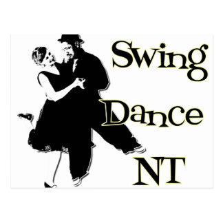 Swing Dance NT Postcard