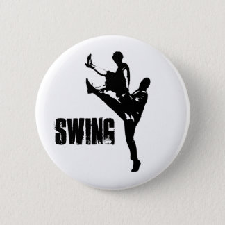 Swing Dance Pinback Button