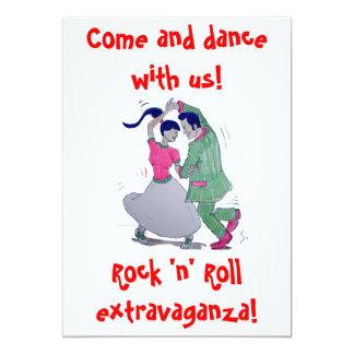 swing dancers invitation
