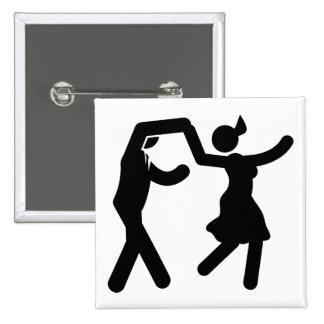 Swing Dancing Pin