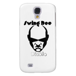 "Swing Dee Diablo""Round Mound""Logo Galaxy S4 Cover"