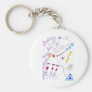 Swing Fantasia Solder Expression Keychain