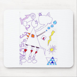 Swing Fantasia Solder Expression Mouse Pad