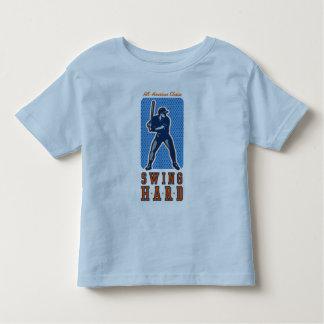 Swing Hard Baseball T-shirts