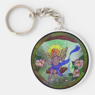Swing in Peace Keychain