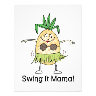 Swing It Mama! Customized Letterhead