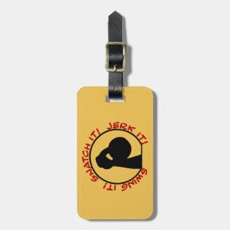 Swing It! Snatch It! Jerk It! Classic Luggage Tag