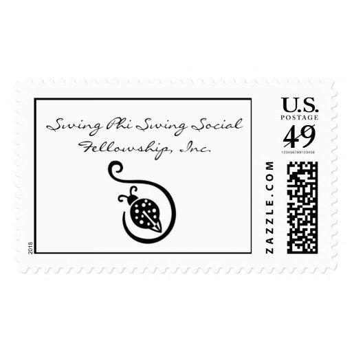 Swing Phi Postage Stamp