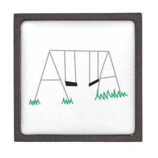 Swing Set Jewelry Box