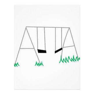 Swing Set Letterhead