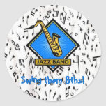 Swing them 8ths Sticker