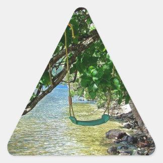 Swing Triangle Sticker