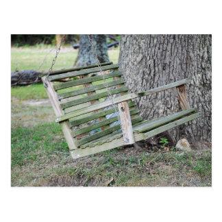 Swing Under the Big Oak Postcards