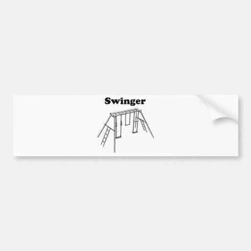 Swinger Bumper Stickers