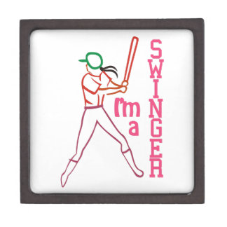 Swinger Girl Keepsake Box