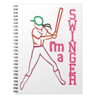 Swinger Girl Notebook
