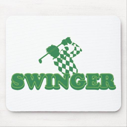 Swinger (Golf) Mouse Pad