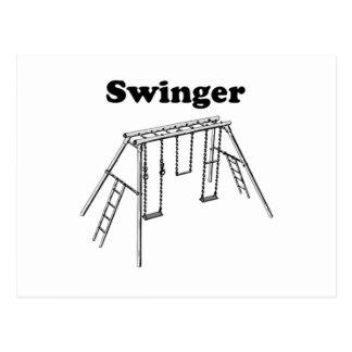 Swinger Postcard