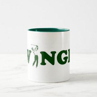 Swinger. Two-Tone Coffee Mug