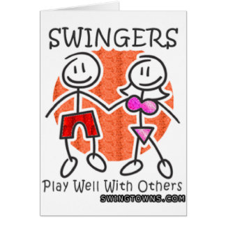 Swinger playing cards