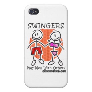 Swingers Play Well Together Cases For iPhone 4