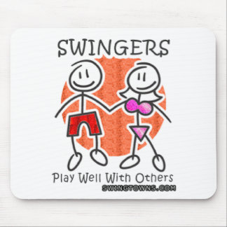 Swingers Play Well Together Mouse Pad