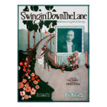 Swingin Down The Lane by Isham Jones Poster