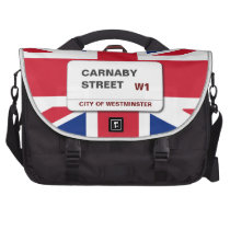 Swinging 60s Carnaby Street Commuter Laptop Bag at Zazzle